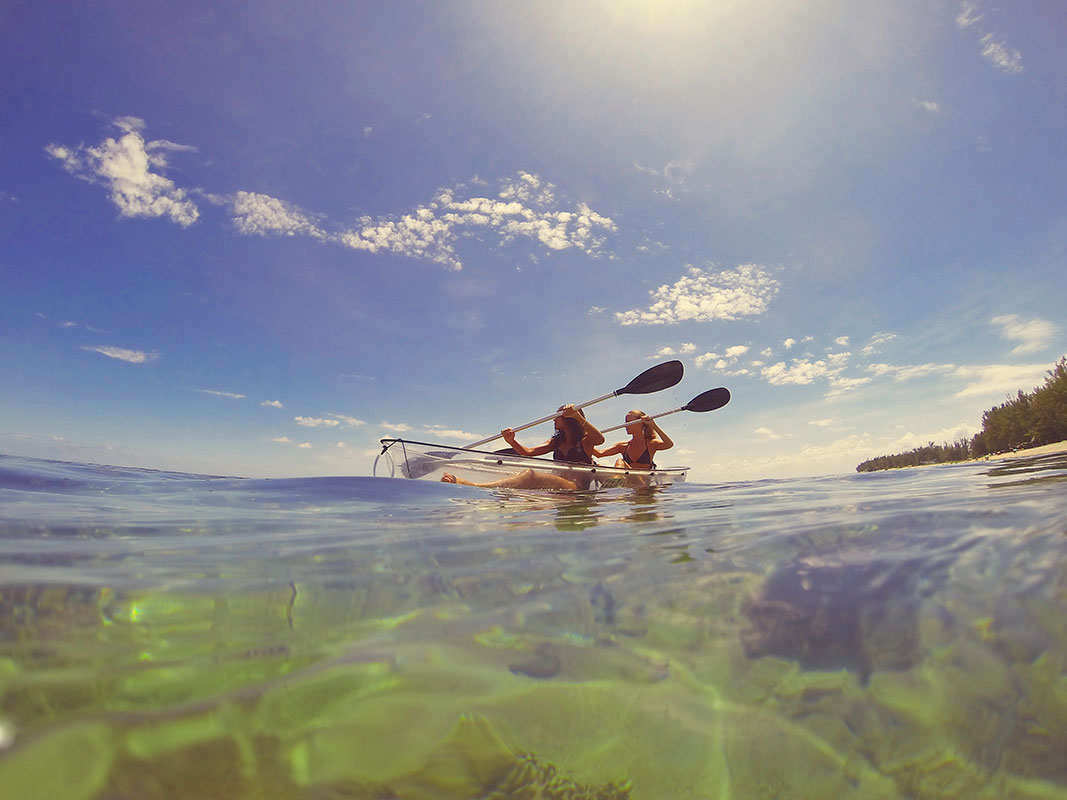 环礁湖生活
